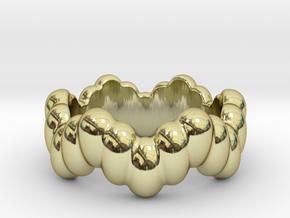 Biological Ring 27 - Italian Size 27 in 18k Gold