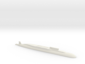 Borei-Class SSBN, 1/2400 in White Natural Versatile Plastic