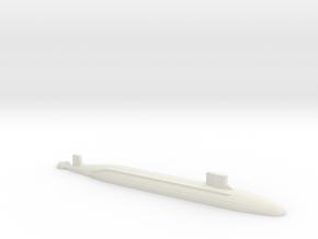 Seawolf-Class SSN, 1/1800 in White Natural Versatile Plastic