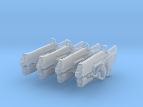 Hard Light (1:18 Scale) 4 Pack in Smooth Fine Detail Plastic