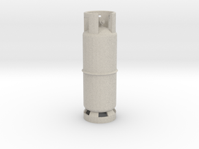 1/10 Scale LPG gas tank M1 in Natural Sandstone