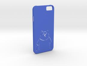 iPhone6 Cat Case in Blue Processed Versatile Plastic