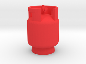 1/10 Scale LPG gas tank M3  in Red Strong & Flexible Polished