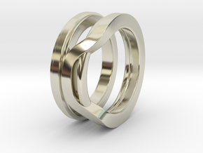 Balem's Ring1 - US-Size 8 1/2 (18.53 mm) in 14k White Gold