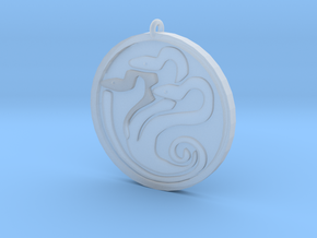 Hydra medallion by Martinus in Smoothest Fine Detail Plastic
