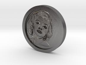 Marilyn Monroe Coin in Polished Nickel Steel