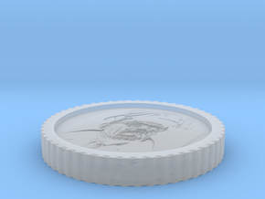 Heisenberg coin from Breaking bad in Smooth Fine Detail Plastic