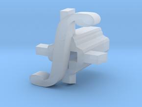 Integral Cherry MX Keycap Stem in Smooth Fine Detail Plastic