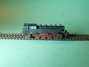 Steam Loco / Dampflok BR86 1/285 6mm in Smooth Fine Detail Plastic