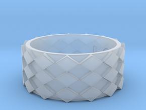 Futuristic Diamond Ring Size 11 in Smooth Fine Detail Plastic