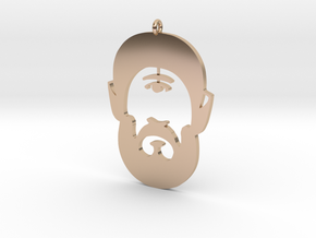 The Cyclops by Martinus in 14k Rose Gold Plated Brass