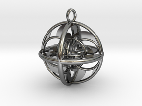 LIFE SPIRAL GYRO in Premium Silver