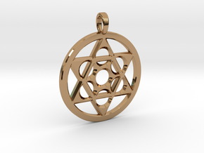 METATRON STAR SIX in Polished Brass