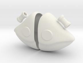 Chobits Ear Custom Size in White Natural Versatile Plastic