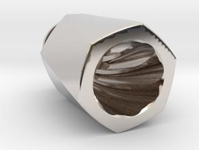 HEX TORQUE Driptip in Platinum