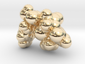 amoxicillin_space_fill in 14K Yellow Gold