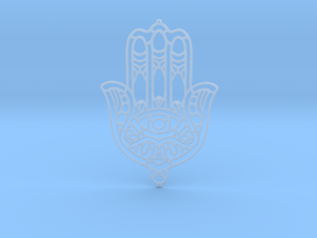 Khamsa (The Hand) in Smooth Fine Detail Plastic