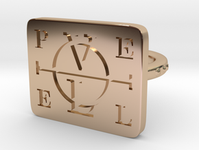 Enochian Adjustable in 14k Rose Gold Plated Brass