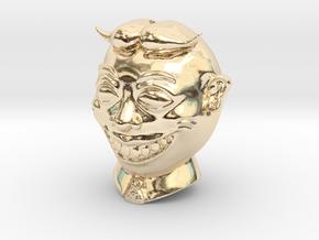 Tillie Asbury Park Spherical Bead 14mm in 14K Yellow Gold