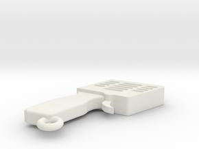LLAVERO MANDO SLOT, PERSONALIZABLE in White Strong & Flexible