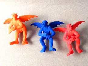 little political flying devils in Red Processed Versatile Plastic