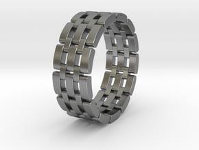 Watara - Ring in Natural Silver: 9 / 59