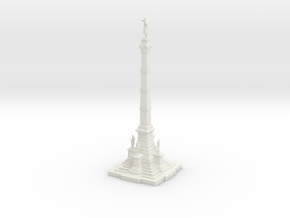 Soldiers' & Sailors' Civil War Monument in White Natural Versatile Plastic
