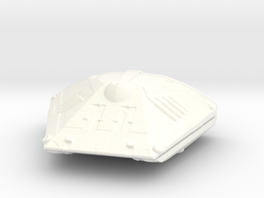 Sidewinder Ship from Elite:dangerous in White Processed Versatile Plastic