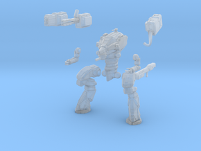 28mm scale mech - Wolverine in Smooth Fine Detail Plastic