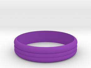 Ribble 3 Ring ø20 mm in Purple Processed Versatile Plastic