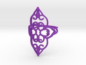 Bloom - size 7 in Purple Processed Versatile Plastic