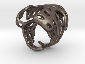 s4r019s7 GenusReticulum  in Polished Bronzed Silver Steel