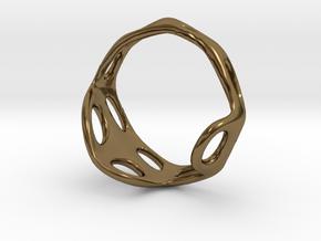s3r012s7 GenusReticulum in Polished Bronze