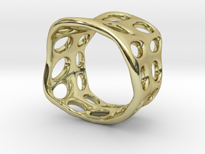 s3r031s7 GenusReticulum  in 18k Gold Plated Brass