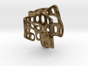 s4r018s5 GenusReticulum  in Polished Bronze