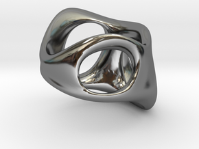S3r032s9 GenusReticulum in Fine Detail Polished Silver