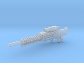 Gauss Rifle (1:12 Scale) in Frosted Ultra Detail