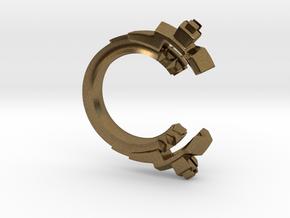 Future Trends - size 5 in Raw Bronze