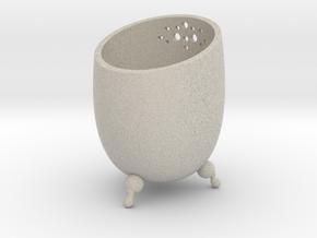 Small Pot  in Natural Sandstone