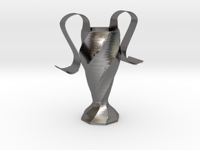 Eiscream cone holder in Polished Nickel Steel