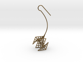 rose (small) in Polished Bronze
