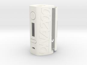 DNA200 Premium Case in White Processed Versatile Plastic