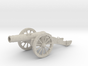 Cannon in Natural Sandstone