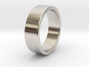 Bruno - Ring in Rhodium Plated Brass: 9 / 59