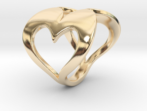 Valentin - Ring in 14k Gold Plated Brass: 6.75 / 53.375