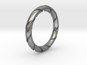 Bernd - Ring in Natural Silver: 7.25 / 54.625