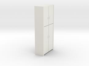 A 006 - 1 Schrank 1:50 in White Natural Versatile Plastic