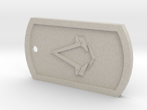 Dogtag - Assassin's Creed Syndicate in Natural Sandstone