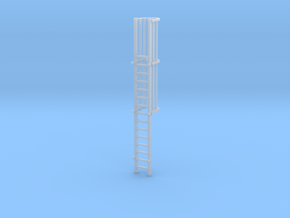 'N Scale' - 15.33 FT Ladder For Loadout Bin in Smooth Fine Detail Plastic