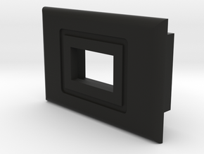 Switch Bezel - Mini Slide Switch in Black Natural Versatile Plastic